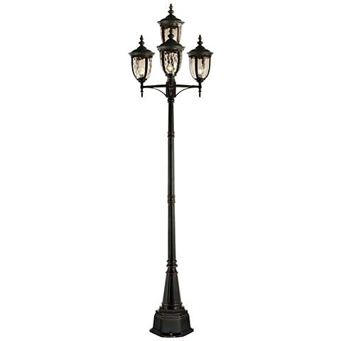 Bellagio Collection 102 Quot High Bronze 4 Light Post Light