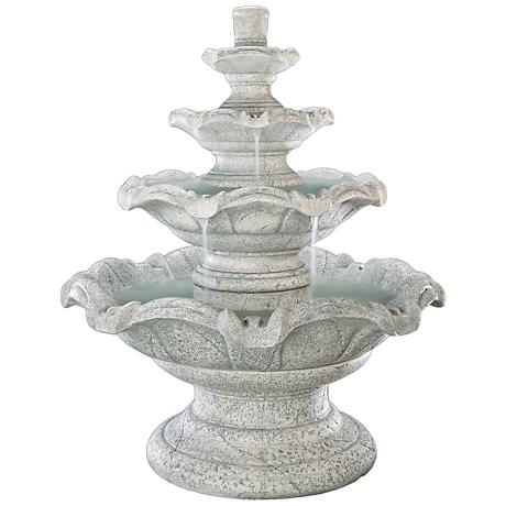 Henri Studio Quattro 4-Tier Outdoor Fountain