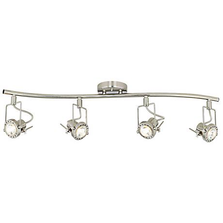 track european style 4 light 31 3 4 wave bar 95983 lamps plus. Black Bedroom Furniture Sets. Home Design Ideas