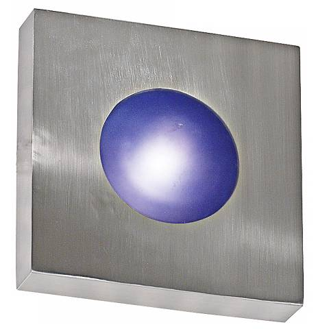 "Burst Aluminum 10"" Square Outdoor Ceiling or Wall Light"