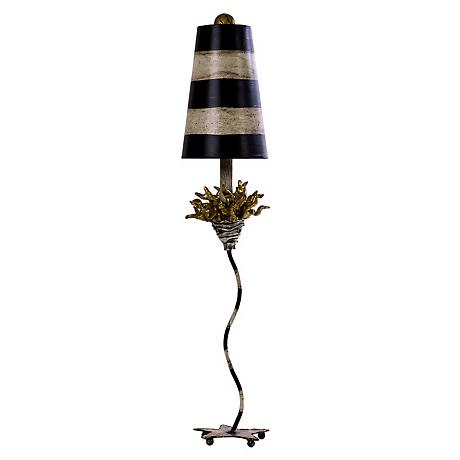 Flambeau Lighting La Fleur Table Lamp