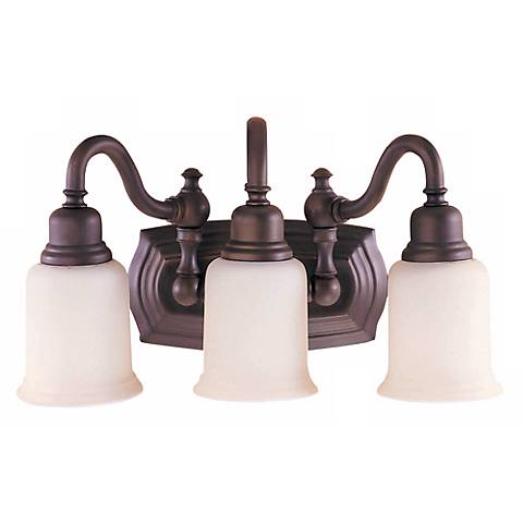 "Feiss Canterbury Collection 19"" Wide Bathroom Light Fixture"