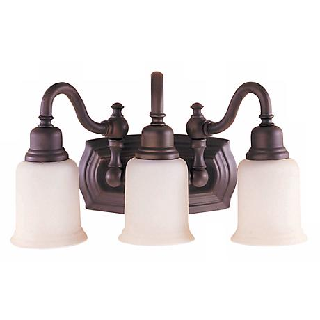 """Feiss Canterbury Collection 19"""" Wide Bathroom Light Fixture"""