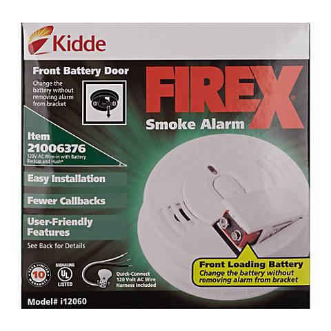 Kidde 120VAC Ionization Smoke Alarm
