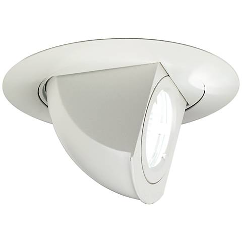 "3 3/4""  Low Voltage Adjustable Angle Recessed Light Trim"