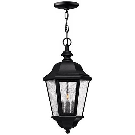 "Hinkley Edgewater Black 18 1/2"" High Hanging Light"
