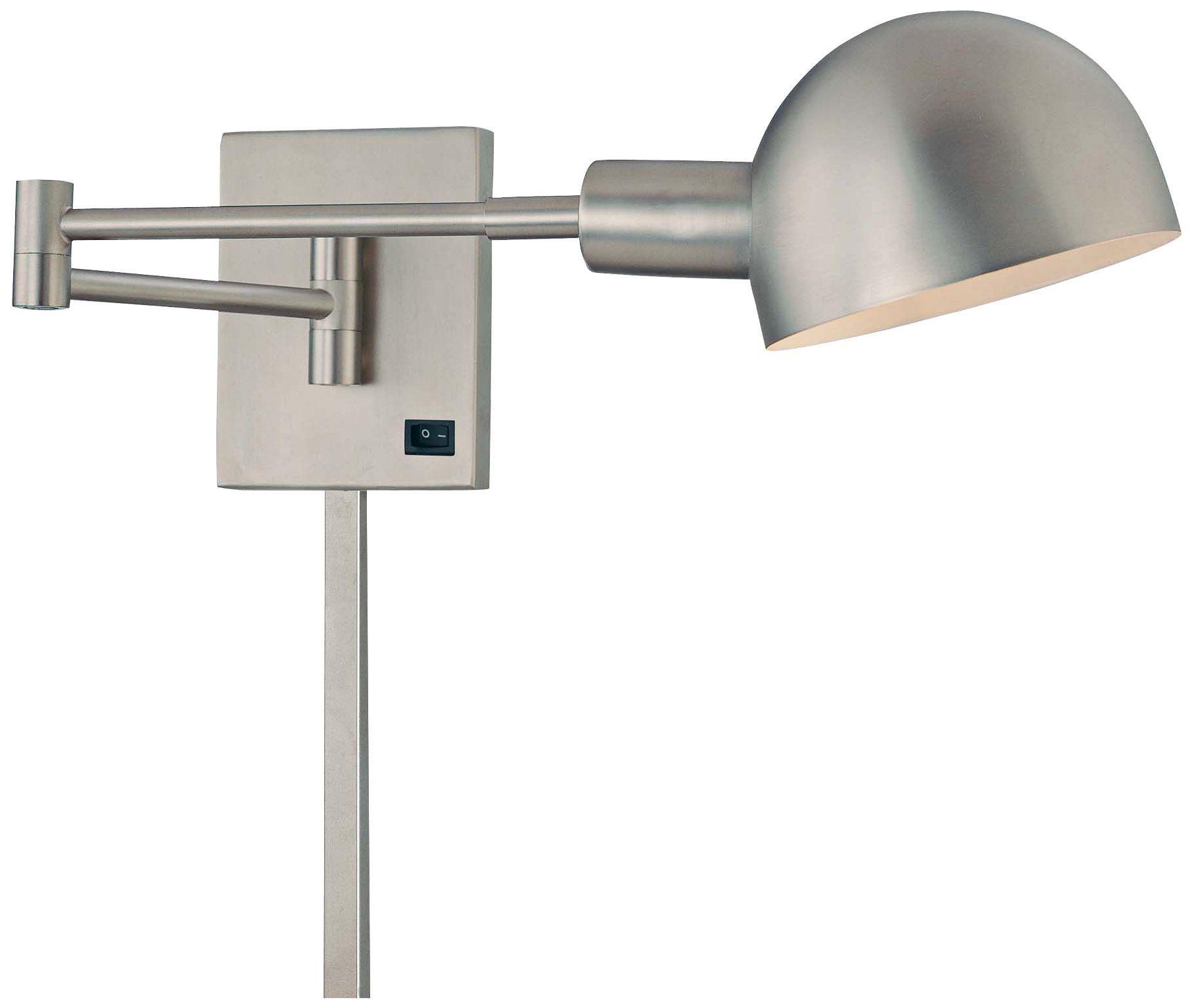 george kovacs p3 plugin swing arm wall lamp