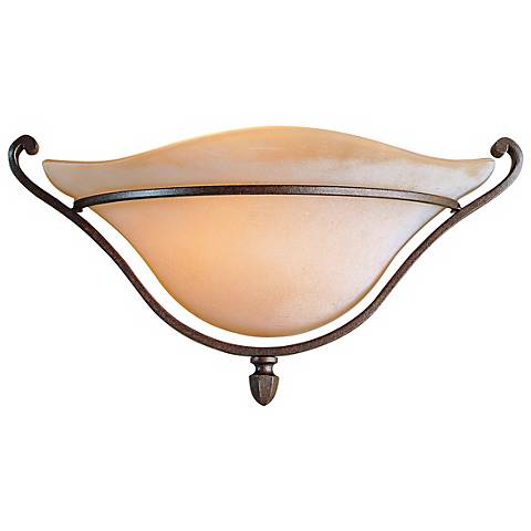 "Feiss Romana 15"" Wide Pocket Sconce"