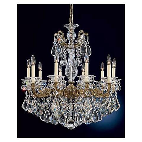 Schonbek La Scala Collection 17 Wide Crystal Chandelier N3562 – La Scala Chandelier