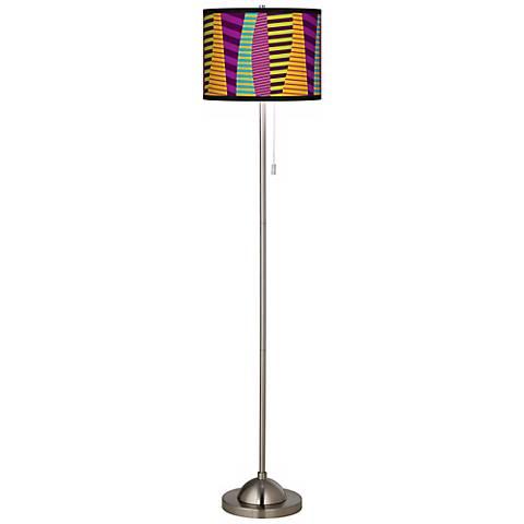 Mambo Giclee Shade Floor Lamp
