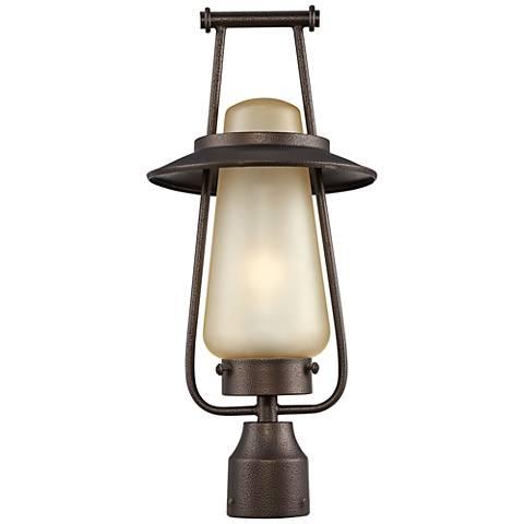 "Stonyridge 20""H 13W CFL Flemish Bronze Outdoor Post Light"