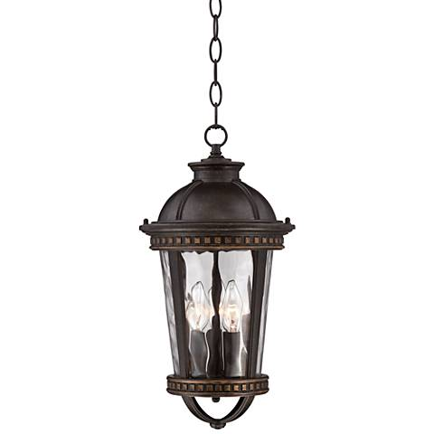 "Timberland Provence 17 1/4""H Bronze Hanging Outdoor Light"