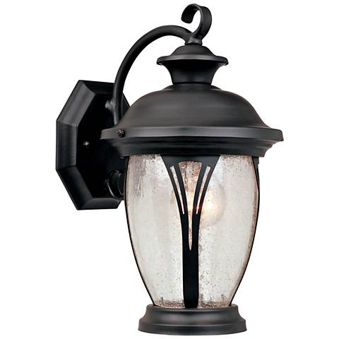 "Westchester 12 3/4"" High Curved Bronze Outdoor Wall Light"