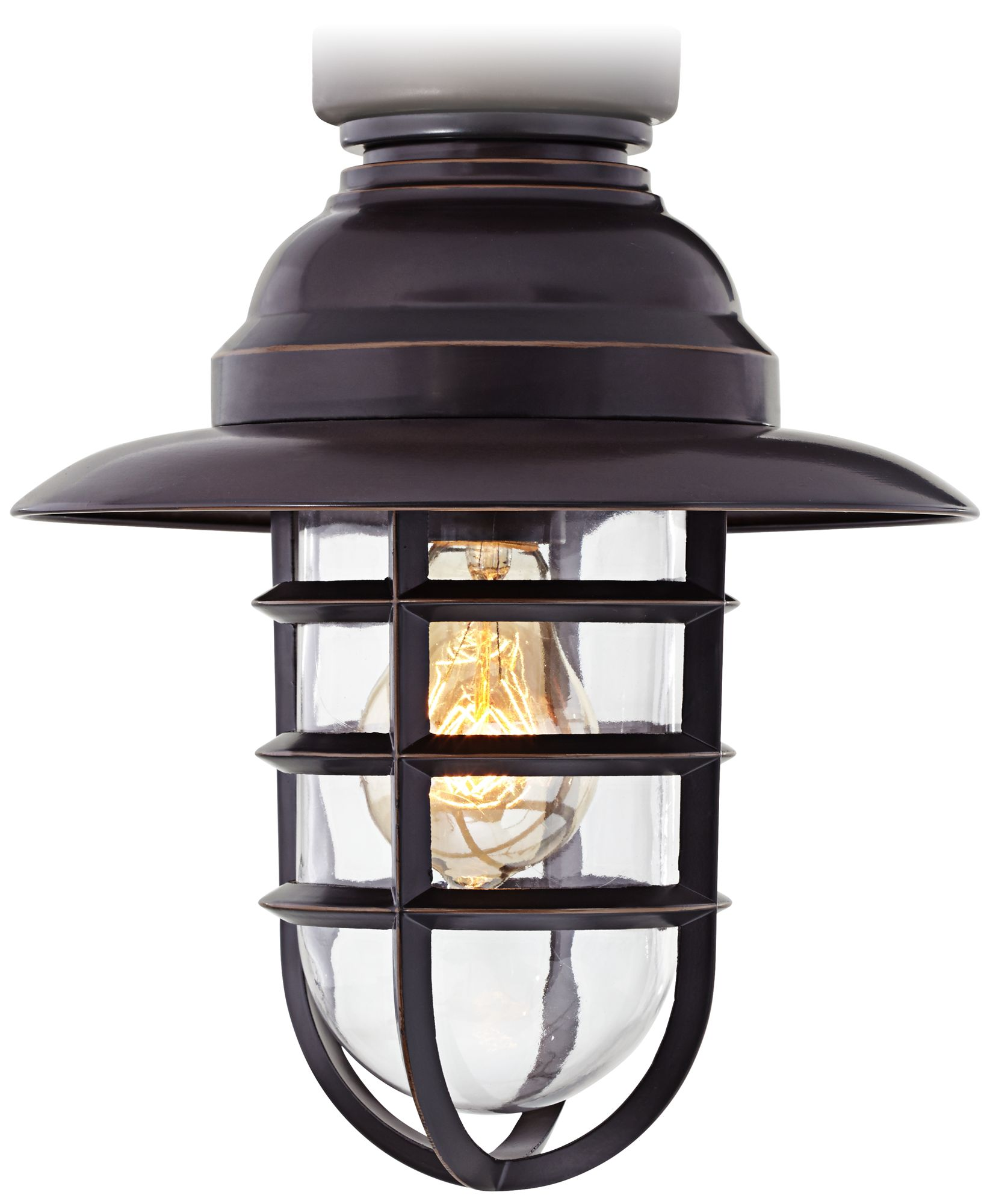 Cage Covered Ceiling Fan With Light Cage Light Ceiling