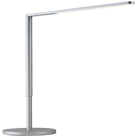 Koncept Lady-7 Silver LED Desk Lamp with USB Port