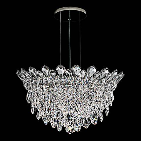 """Schonbek Trilliane Strands 24"""" Wide Crystal Pendant Light"""