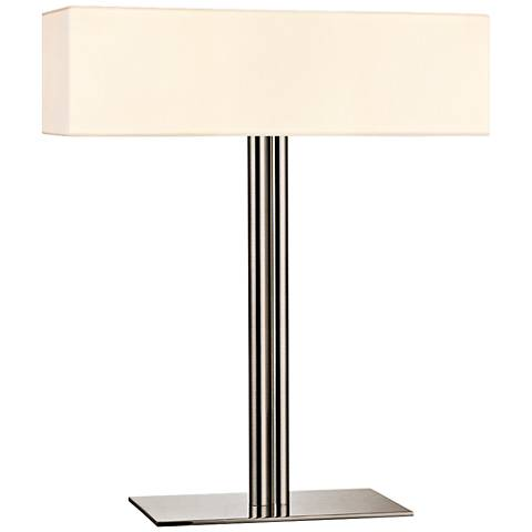 Sonneman Madison Collection Satin Nickel Accent Table Lamp