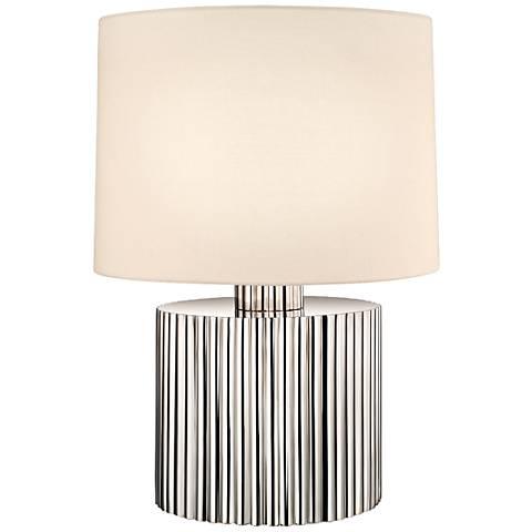 Sonneman Paramount Low Polished Nickel Table Lamp