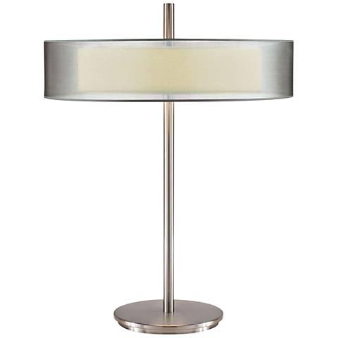 Sonneman Puri Satin Nickel Table Lamp