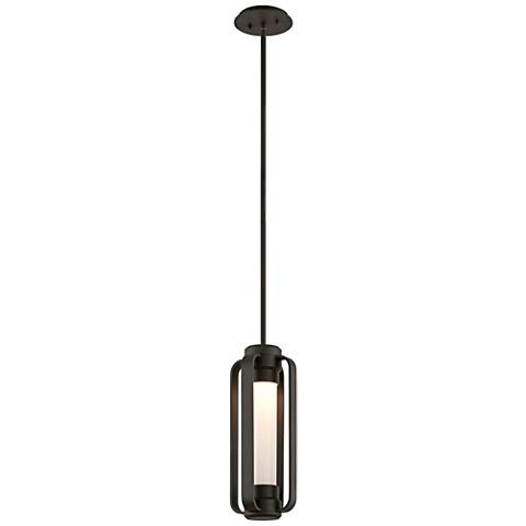 "Verve 16 1/2""H Bronze Outdoor LED Hanging Light"