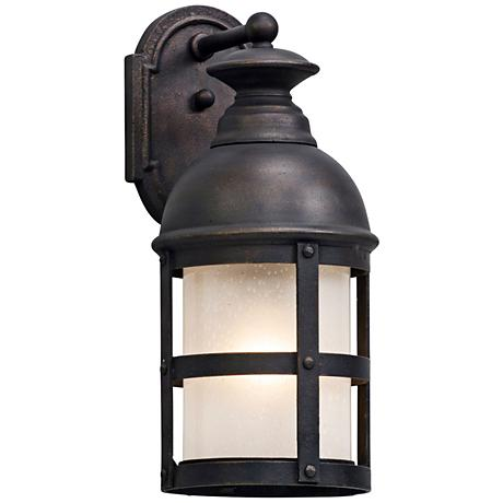 "Webster 17 1/2"" High Vintage Bronze Outdoor Wall Light"