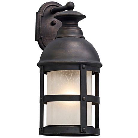 "Webster 21 3/4"" High Vintage Bronze Outdoor Wall Light"