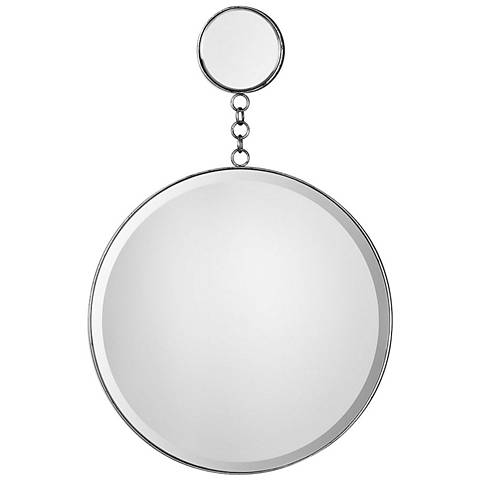 "Uttermost Ophelia Silver 20"" x 30 3/4"" Dual Wall Mirror"