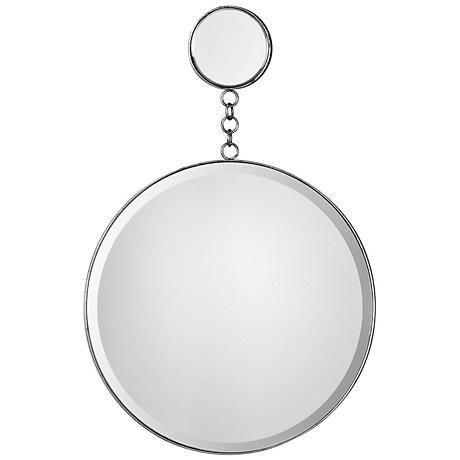 "Uttermost Ophelia Silver 20"" x 30 3/4"" Dual Wall Mirror"