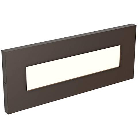 "LBL Lighting Vitra 8 1/2"" Wide Antique Bronze LED Step Light"