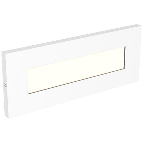 """LBL Lighting Vitra 8 1/2"""" Wide White LED Step Light"""