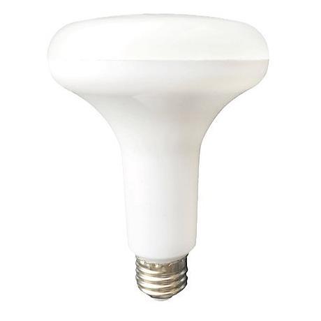 8 Watt LED 650 Lumen 3000K Frosted BR30 Light Bulb