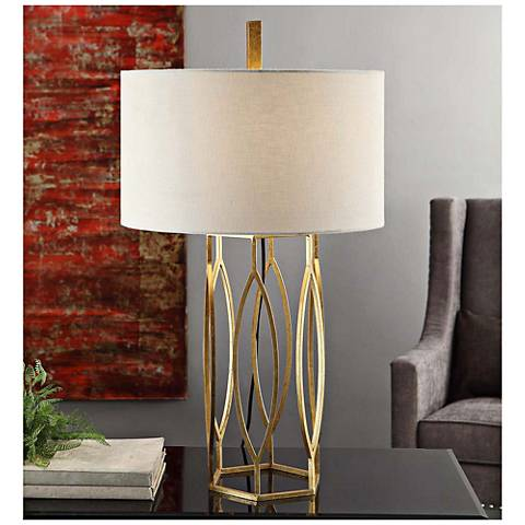 Crestview Collection Global Gold Table Lamp