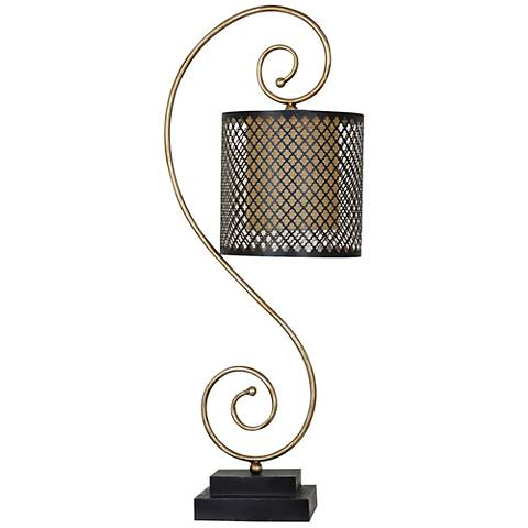 Crestview Collection Sherwin Gold and Bronze Table Lamp