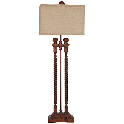 Crestview Collection Baldwin Bedpost Table Lamp