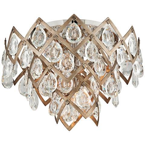 "Corbett Tiara 19 1/2"" Wide Vienna Bronze Ceiling Light"