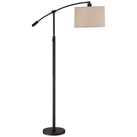 Quoizel Clift Oil Rubbed Bronze Adjustable Arc Floor Lamp