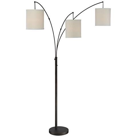 Quoizel Overlook Oil Rubbed Bronze 3-Light Arc Floor Lamp