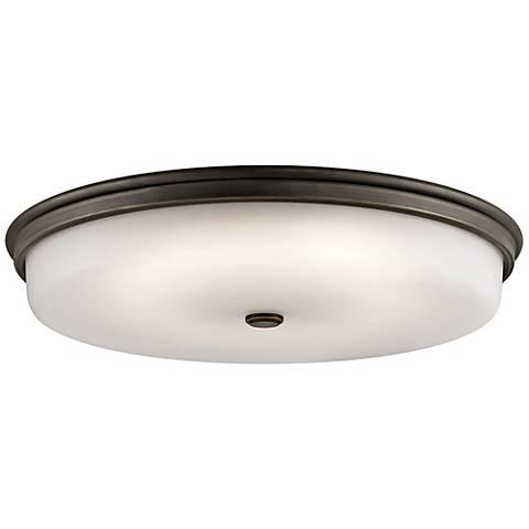 "Kichler Jefferson 24"" Wide Olde Bronze LED Ceiling Light"
