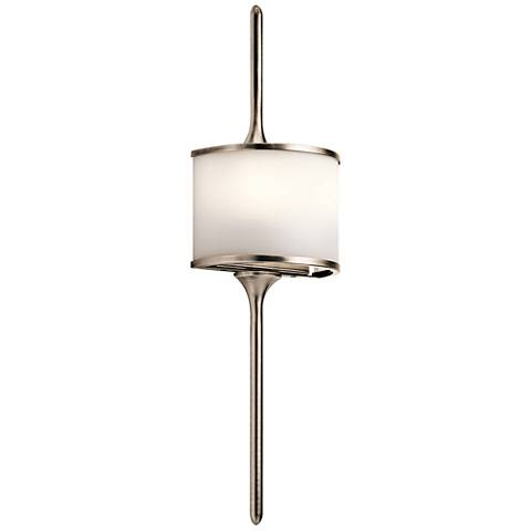 "Kichler Mona 22"" High Classic Pewter 2-Light Wall Sconce"