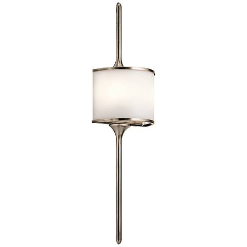 "Kichler Mona 30"" High Classic Pewter 2-Light Wall Sconce"