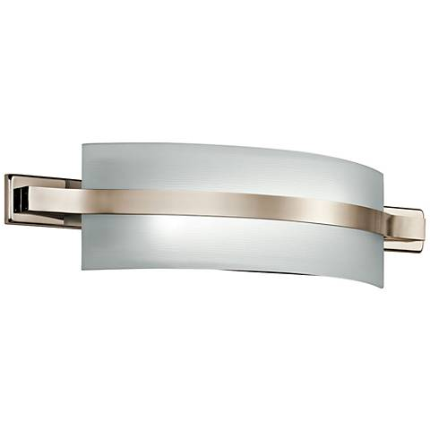 "Freeport 22""W Polished Nickel 1-Light LED Linear Bath Light"