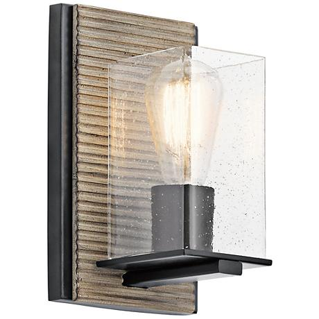 Vintage Grey Wall Lights : Millwright 9