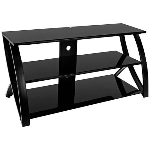Calico Designs Futura Advanced Black TV Stand