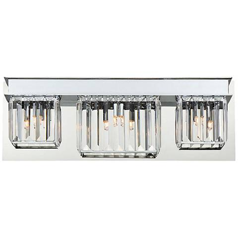 "Eurofase Lumino 20 1/2"" Wide Chrome 3-Light Bath Light"