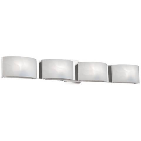 "Eurofase Dakota 27"" Wide Chrome 4-Light LED Bath Light"