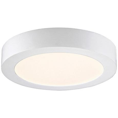 """Eurofase Brant 8 3/4"""" Wide White LED Ceiling Light"""
