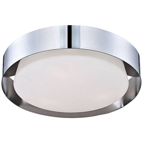 "Eurofase Saturn 15 1/2"" Wide Chrome LED Ceiling Light"