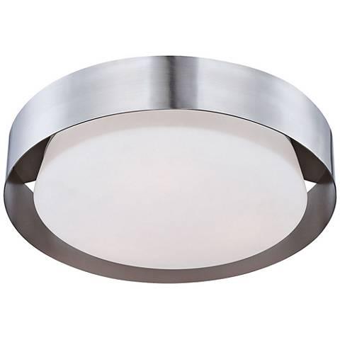 "Eurofase Saturn 15 1/2"" Wide Satin Nickel LED Ceiling Light"