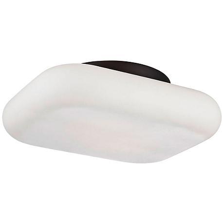 """Eurofase Alma 13"""" Wide Bronze 2-Light LED Ceiling Light"""