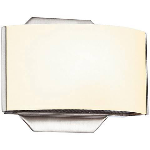 """Eurofase Dakota 4 3/4"""" High Satin Nickel LED Wall Sconce"""